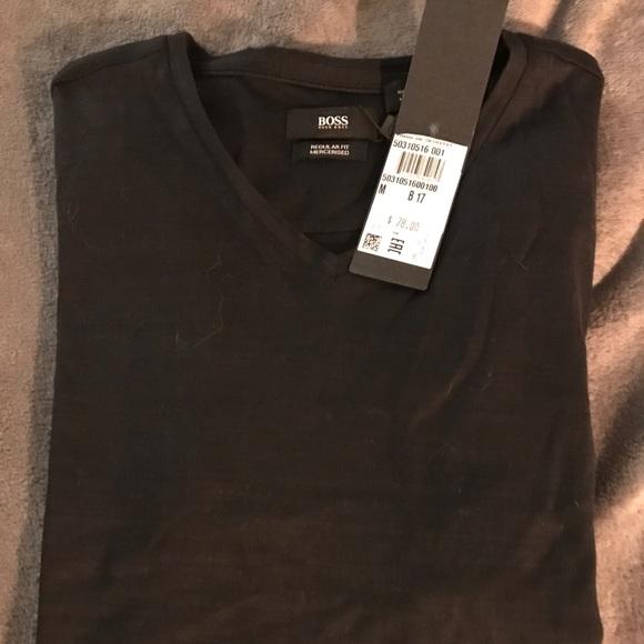 Hugo Boss Mens Tilson Short Sleeve V-Neck T-Shirt